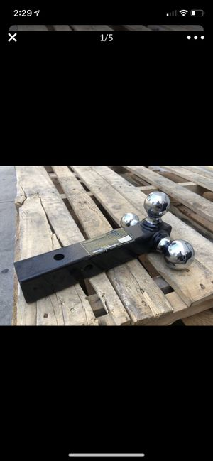 "Tri-ball trailer hitch mount triple hitch ball 10000lbs solid 2"" shank for Sale in Rowland Heights, CA"