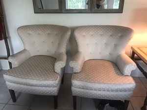 Antique wing back chairs for Sale in Danville, CA