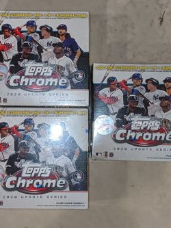 🔥2020 Topps Chrome Baseball Cards 🔥 for Sale in Turlock,  CA