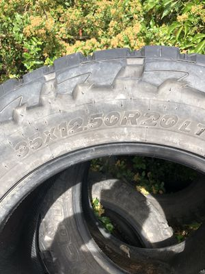 4 good tires off Ford F-250 for Sale in Wenatchee, WA