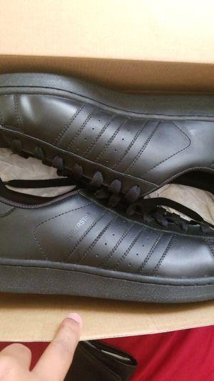 Black Adidas Superstars for Sale in San Diego, CA