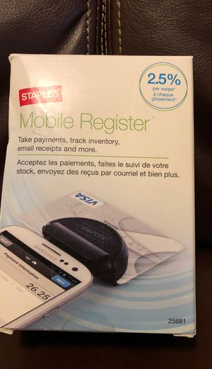Staples Mobile Register - Brand New for Sale in Shoreline, WA