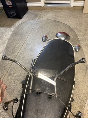 Triumph OEM Windscreen Flyscreen Bonneville Motorcycle for Sale in Simi Valley, CA