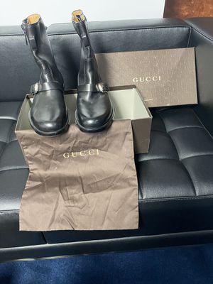 Gucci Men's Boots US 7 1/2 item # 10232830 for Sale in Tamarac, FL