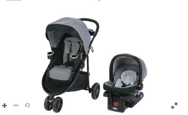 Graco stroller W/car seat