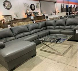 🎁BRAND NEW 🎇Aberton Gray RAF & LAF Sectional 9 for Sale in Laurel,  MD