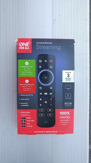 Universal remote for streaming device for Sale in Vallejo, CA
