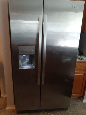 Whirlpool stainless steel refrigerator for Sale in Schertz, TX