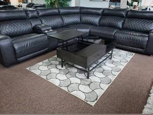 Power reclining sectional starting @ $1799 $1 down no credit check financing for Sale in Massapequa, NY
