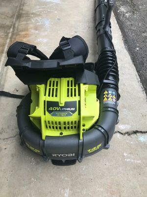 Ryobi backpack blower for Sale in College Park, GA