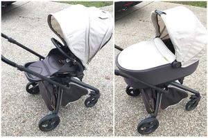 Mamas and Papas Mylo stroller with Bassinet Crib for Sale in Roseville, CA