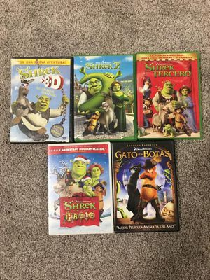 Shrek DVD Collection for Sale in West Bloomfield Township, MI
