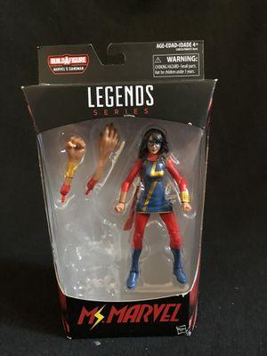 Marvel Legends Ms.Marvel Sandman NO BAF for Sale in Alhambra, CA