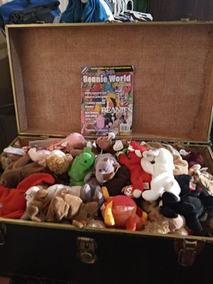 Over 100 Collectible Beanie Babies for Sale in Stone Mountain, GA