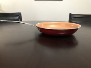 RED COPPER NONSTICK PAN (No lid) for Sale in Bakersfield, CA