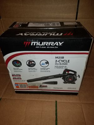 BRAND NEW Murray 200 MPH 430 CFM 2-Cycle 25cc Gas Blower for Sale in Winter Haven, FL