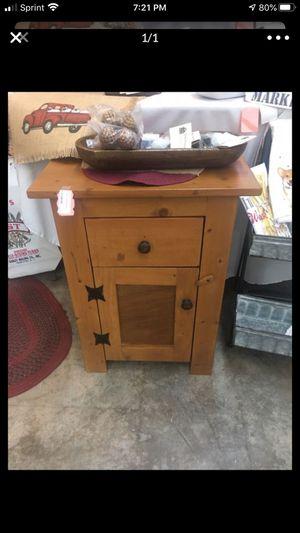 Primitive wood cabinet for Sale in Melbourne, FL