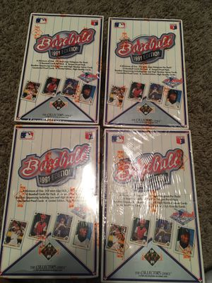 1991 Upper Deck baseball boxes for Sale in North Olmsted, OH