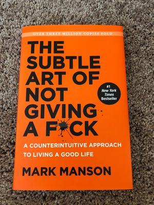 The Subtle Art of Not Giving a F*uck for Sale in Charleston, WV