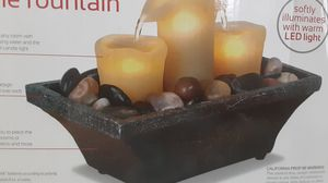 Candle fountain with led lights for Sale in Berwyn Heights, MD