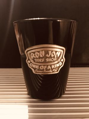 Ron Jon Surf Shop Never Used Collectible Shot Glass Raised Emblem for Sale in PA, US
