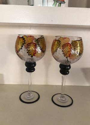 Glass Candle holders for Sale in Santa Maria, CA