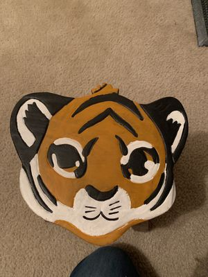 Small wooden tiger stool for Sale in Manassas, VA