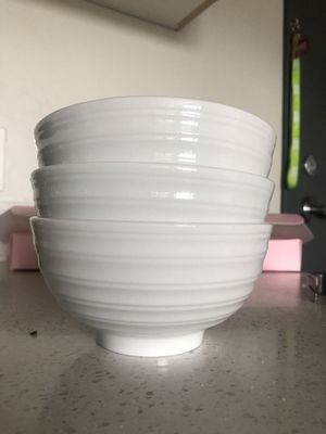 Glass bowls- Set of three for Sale in Rexburg, ID