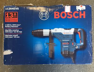 Bosch 11264EVS 1-5/8 SDS-Max Combination Hammer #9704-1 for Sale in Revere, MA