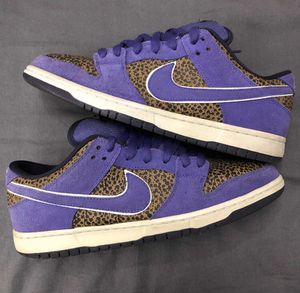 NIKE DUNK SB LOW KENNY POWERS PURPLE SAFARI SIZE 10 for Sale in Queens, NY
