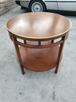 RARE 1960S LANE MID CENTURY MODERN TIERED ROUND COCKTAIL TABLE END SIDE COFFEE EAMES ERA for Sale in Montclair, CA