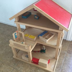 Wooden Doll House for Sale in Irvine, CA