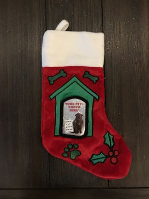 Christmas dog stocking for Sale in Rockville, MD