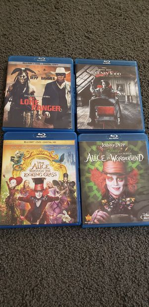 Johnny depp movies for Sale in Marysville, WA