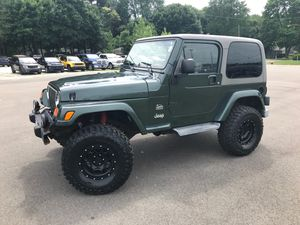 2003 Jeep Wrangler Sahara 4.0L. Manual for Sale in Akron, OH