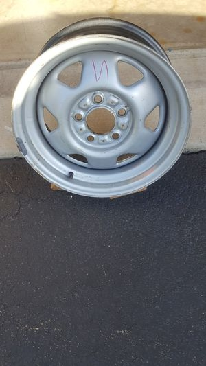 """15"""" by 7"""" steel wheel on a 4.5"""" for Sale in Plainfield, IL"""