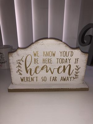Memory table sign for Sale in Placentia, CA