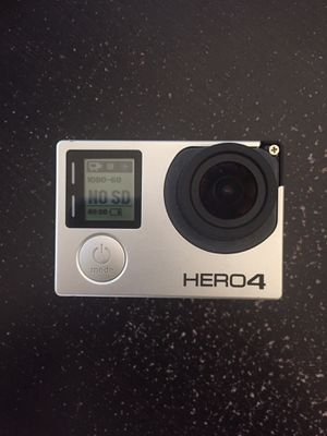 GoPro Hero 4 BLACK for Sale in Johnstown, OH