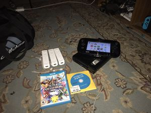 Nintendo Wii U (plus 3 games) for Sale in Garland, TX