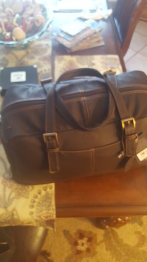 Gh Bass Leather Duffel bag for Sale in Homestead, FL