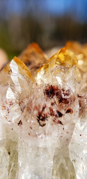 Gorgeous Citrine Cluster witha hint of ruby and amethyst also on etsy @ Crystalfengshui for Sale in Atlanta, GA