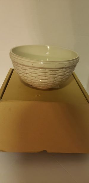 "Longaberger Reflections 9"" bowl for Sale in Tracy, CA"