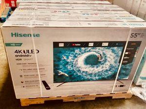 55 INCH HISENSE H8 PLUS 4K SMART TV for Sale in Chino, CA