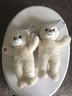 2 Build A Bear- National Bear Day teddy bears for Sale in Lakewood, WA