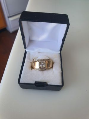 Solid 14k mens wedding ring for Sale in Cardington, OH