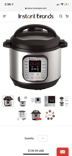 Instant Pot Duo 80 (7-in-1) 8 qt. BRAND NEW for Sale in Santa Ana, CA