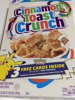 Limited Edition 25th Anniversary Pokemon Card Pack Cereal ! for Sale in Houston,  TX