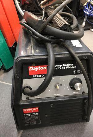 Dayton 90 Amp Gasless Wire Feed Welder for Sale in Orlando, FL
