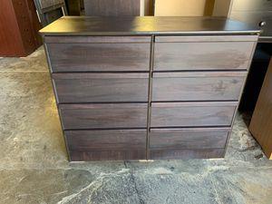 Brown 8 drawer dresser $185 for Sale in Los Angeles, CA