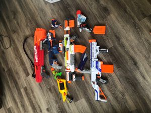 Nerf gun bundle (Accepting offers on individual guns) for Sale in Chesapeake, VA